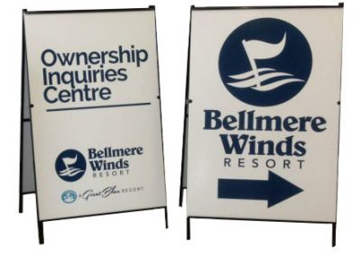 A-Frame for Bellmere Winds