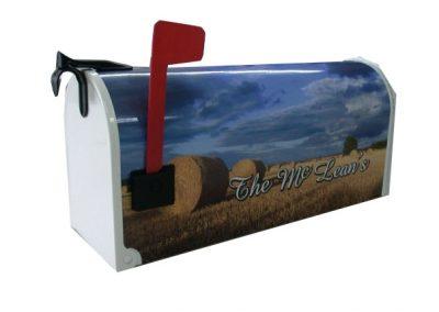 Rural Plastic Custom Mailbox