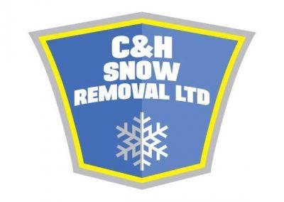 C & H Snow Removal Logo