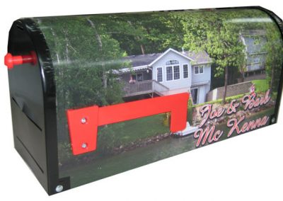 Rural Metal Custom Mailbox