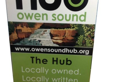 A-Frame for Hub Owen Sound