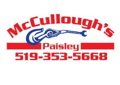 McCullough's Paisley Logo