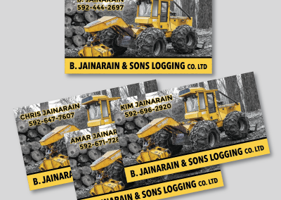 B. Jainarain Business Card