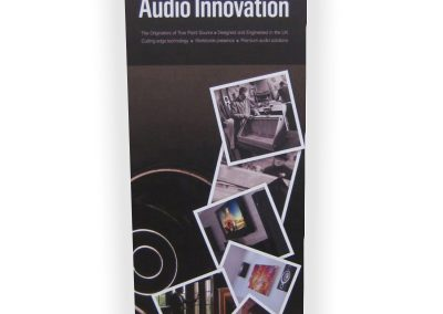 Tannoy Banner Stand