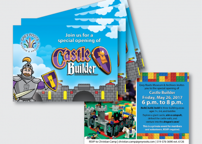 Castle Builder Postcard