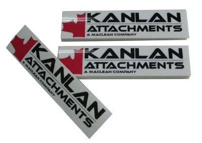 Kanlan Attachments Sign