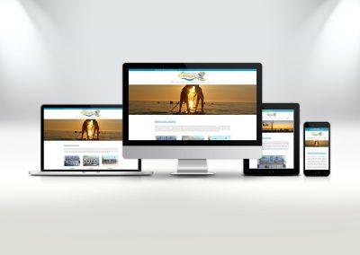 Beach Front Cottages Website Design